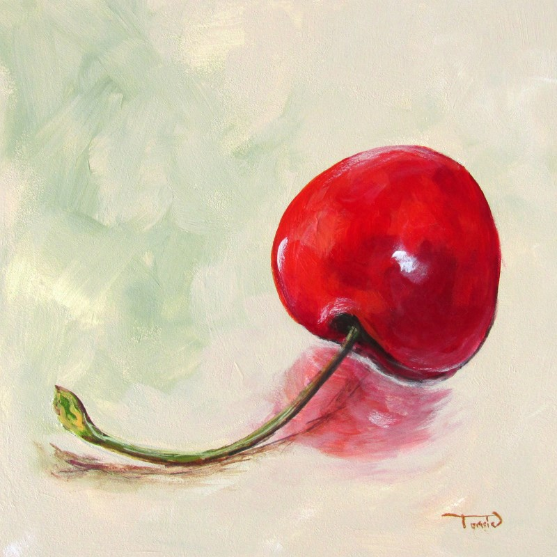 """Fall Cherry"" original fine art by Torrie Smiley"