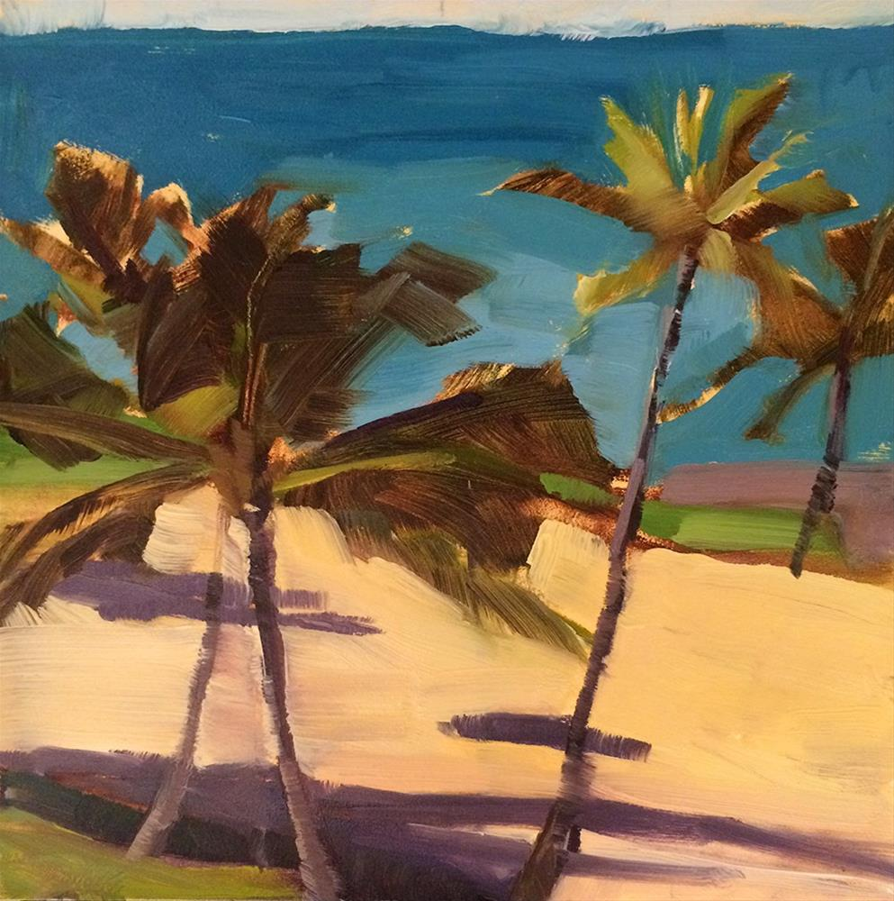 """Hawaii 12.14.2015"" original fine art by Miriam Hill"