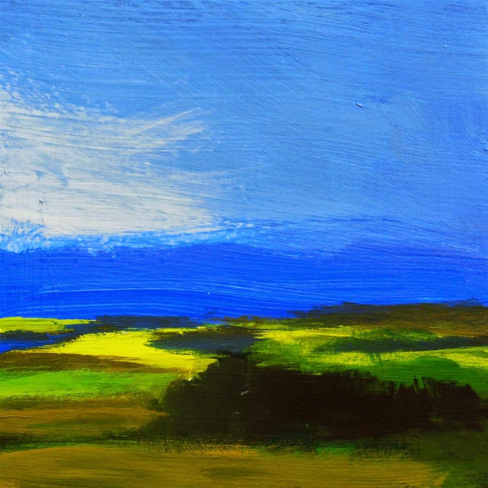 """Looking East"" original fine art by Carolyn Caldwell"