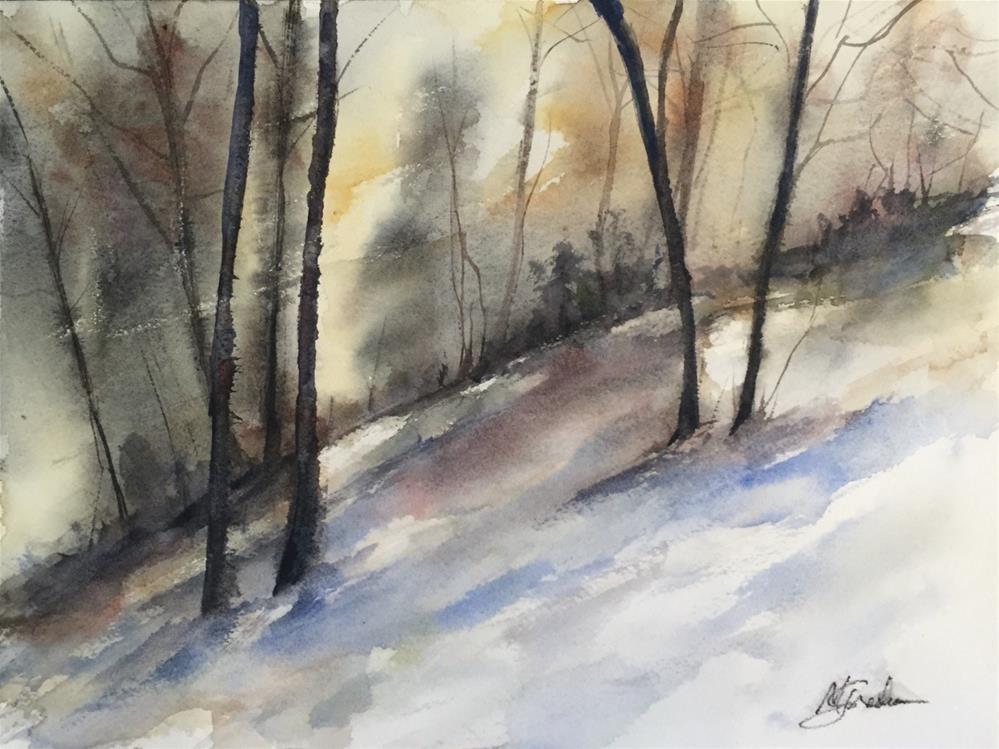 """""""Landscape Series 001"""" original fine art by Melissa Gresham"""