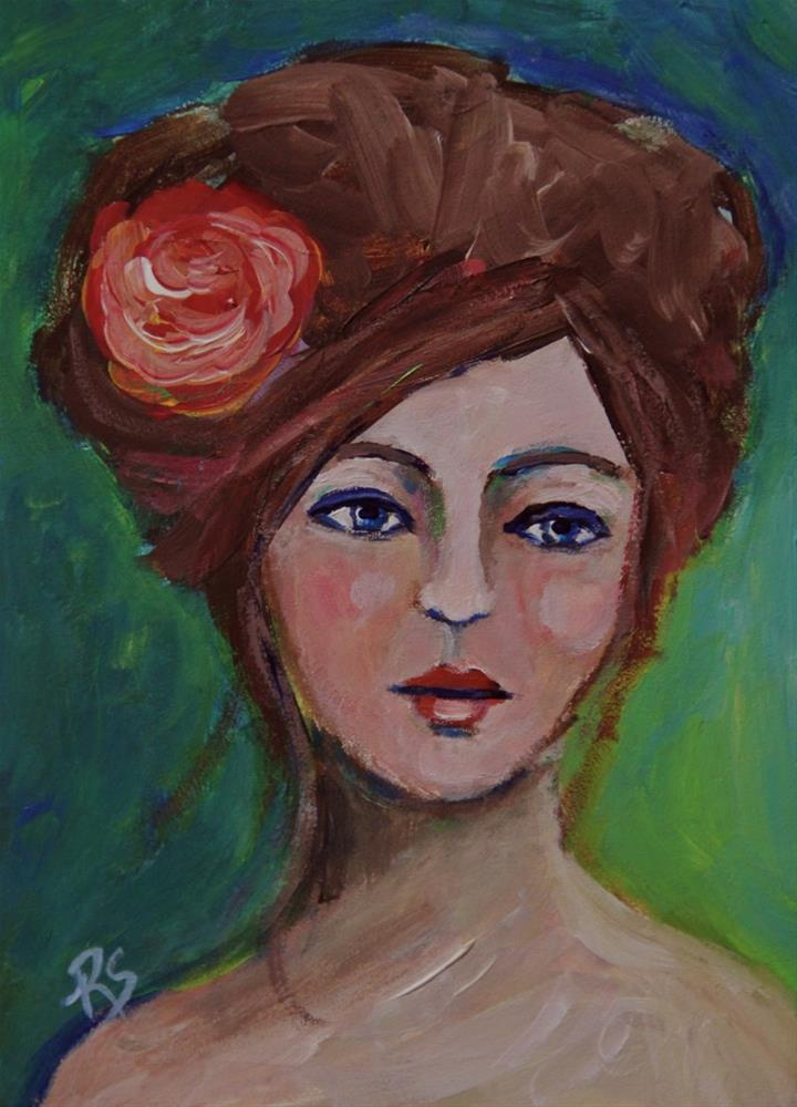 """Margeaux"" original fine art by Roberta Schmidt"