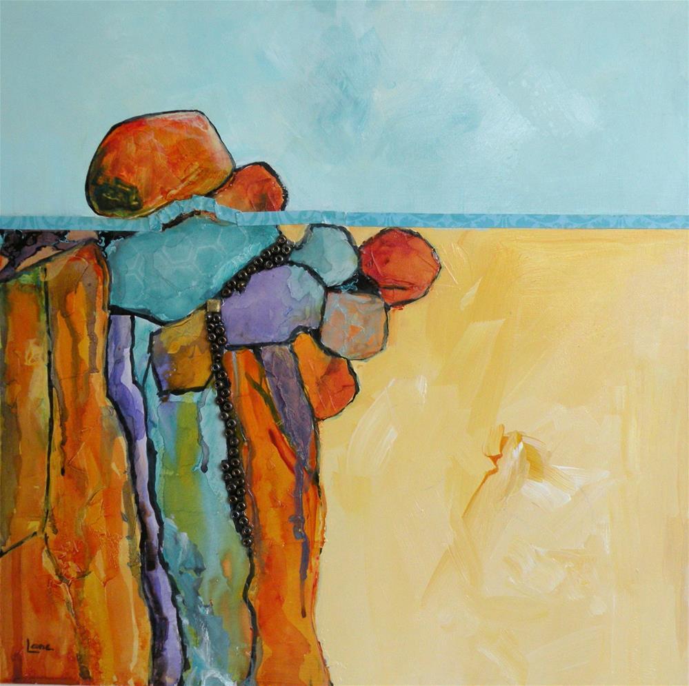 """Water's Edge"" original fine art by Saundra Lane Galloway"