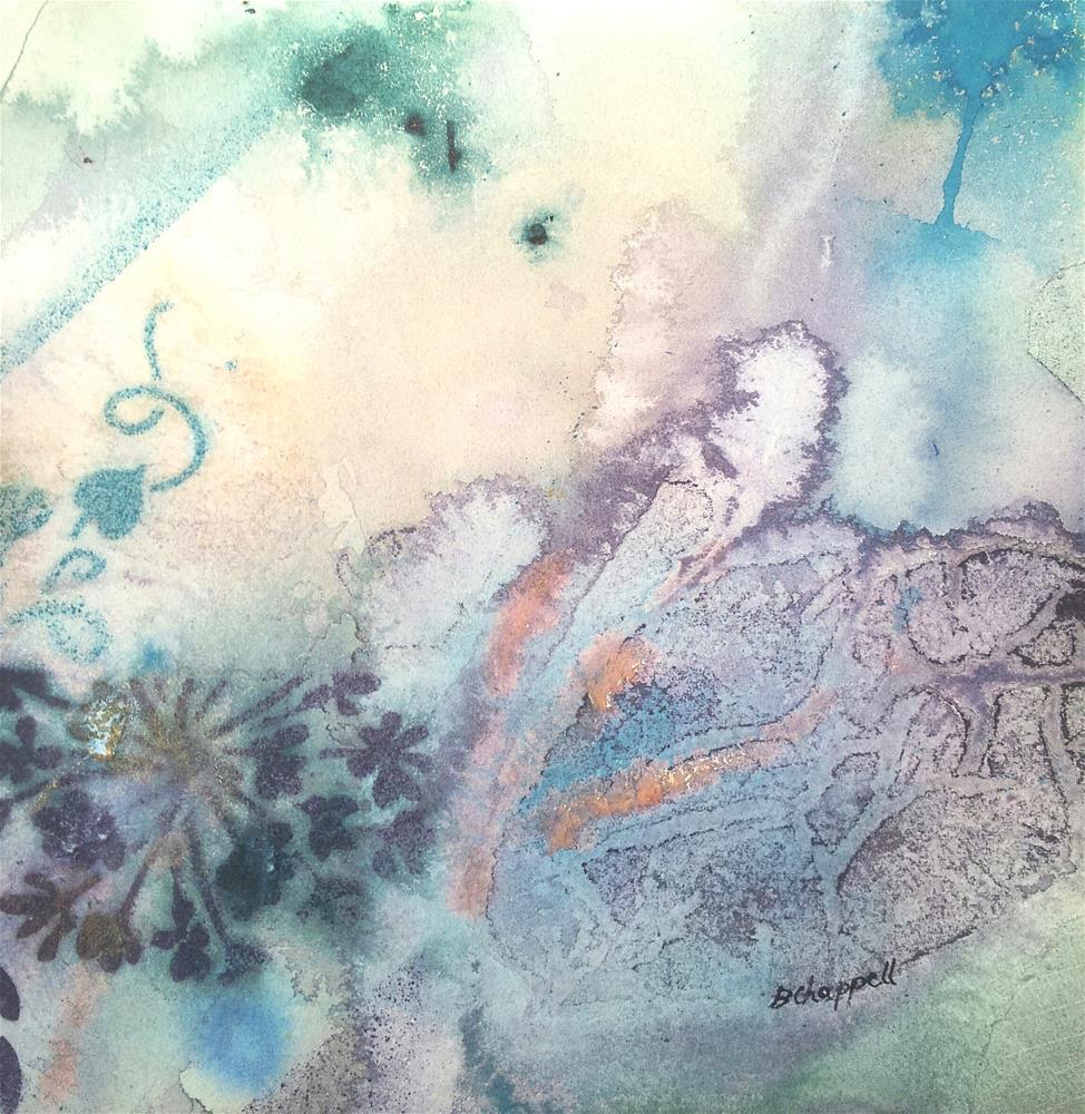 """""""Organic"""" original fine art by Becky Chappell"""