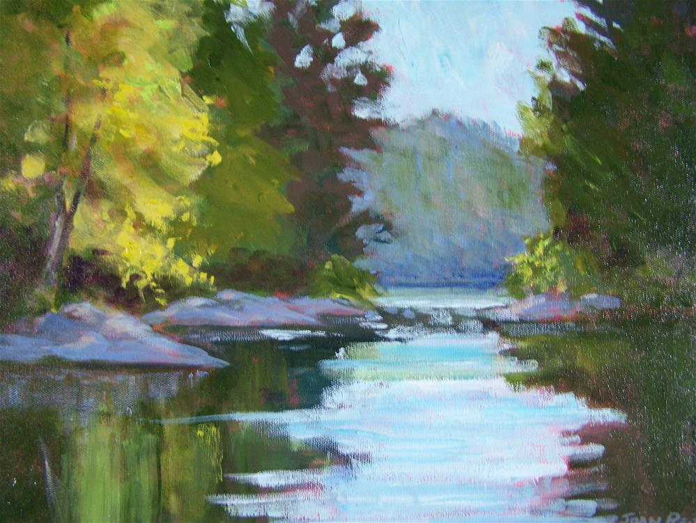 """Morning Light"" original fine art by Joan Reive"