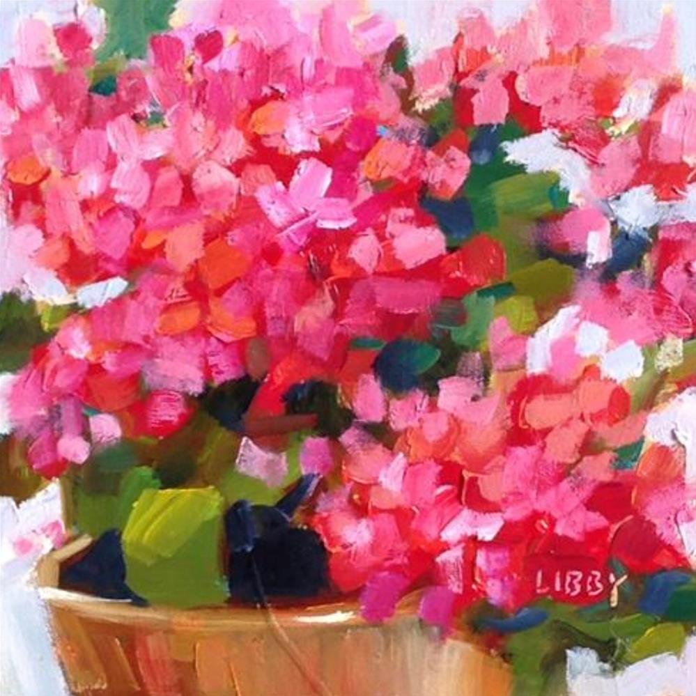"""Good Idea"" original fine art by Libby Anderson"