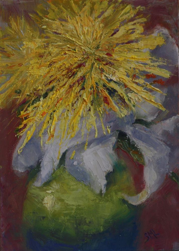 """Burst"" original fine art by Sheila Marie"
