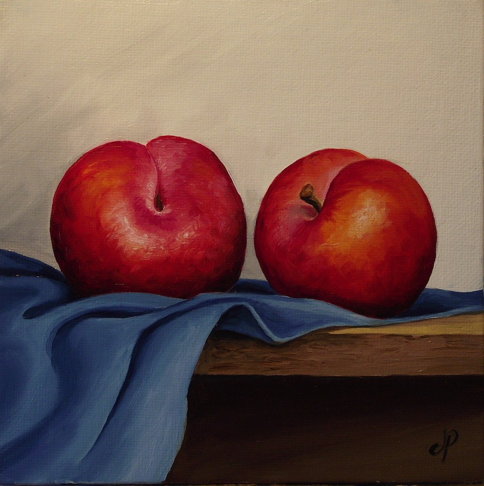 """Plum pair"" original fine art by Jane Palmer"