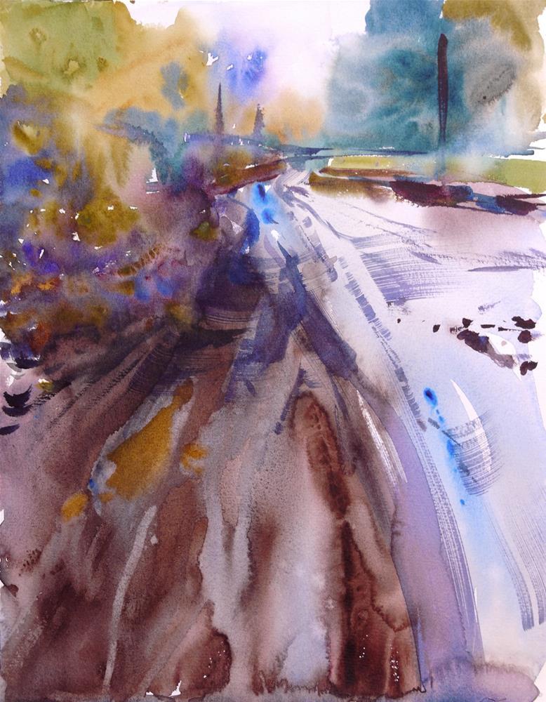 """mud_2"" original fine art by Beata Musial-Tomaszewska"
