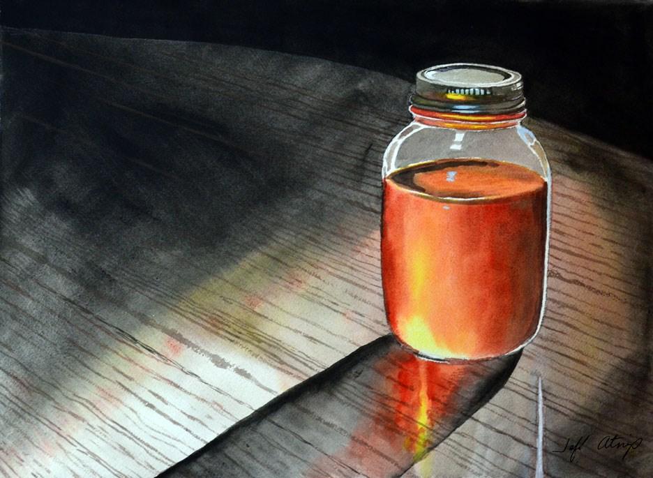 """West Tennessee Honey"" original fine art by Jeff Atnip"