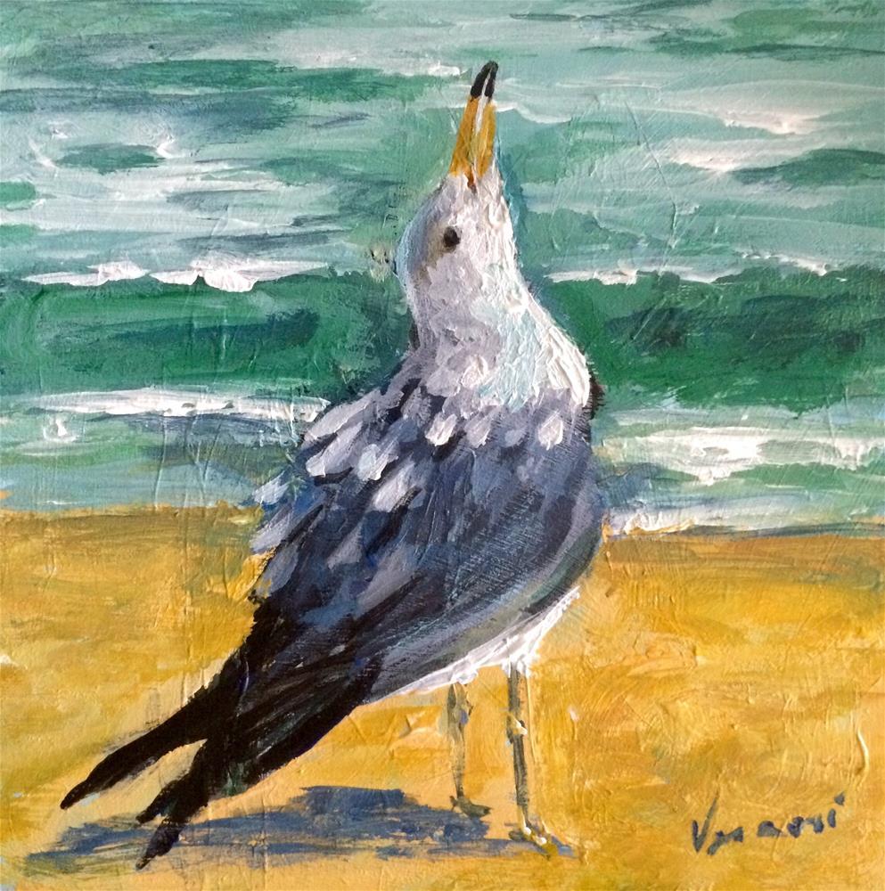 """""""Joie de Vivre"""" original fine art by Valerie Vescovi"""