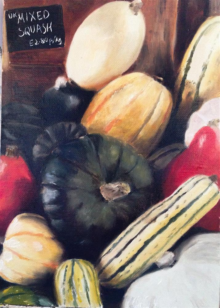 """Mixed Squash"" original fine art by James Coates"