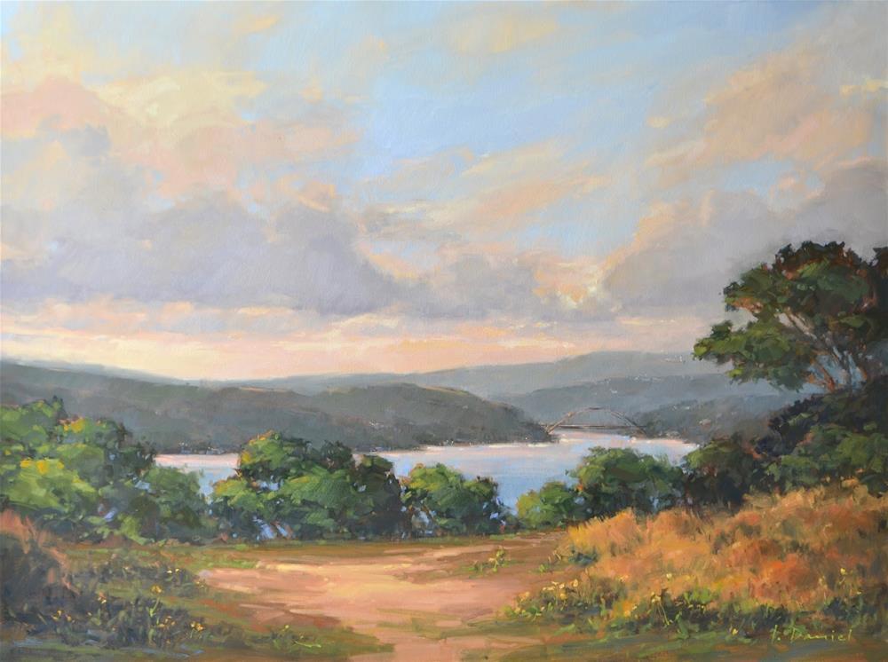 """Golden Memories - The Progression of a Commission"" original fine art by Laurel Daniel"