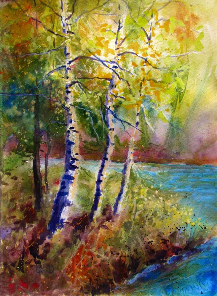 """Basking in the Light"" original fine art by Melissa Gannon"