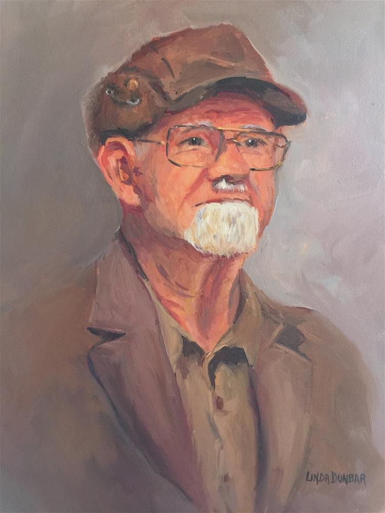 """Hubie Pollok"" original fine art by Linda Dunbar"
