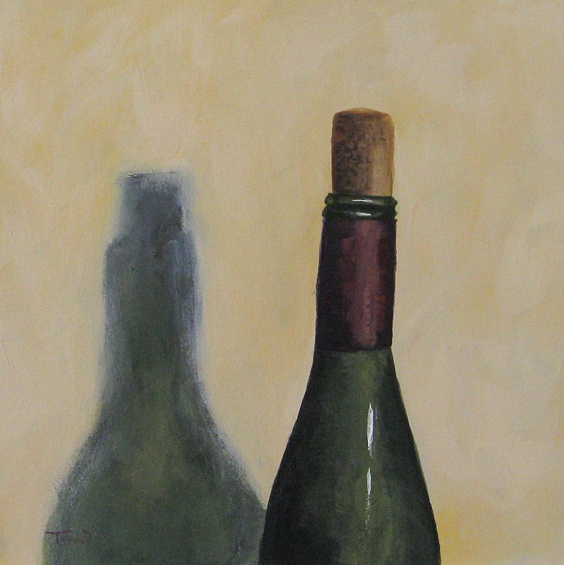 """Half-Corked"" original fine art by Torrie Smiley"
