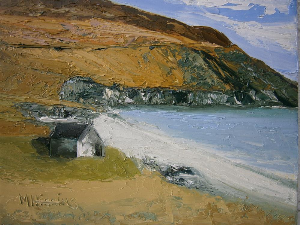 """""""'Achill'"""" original fine art by Marie O' Higgins"""