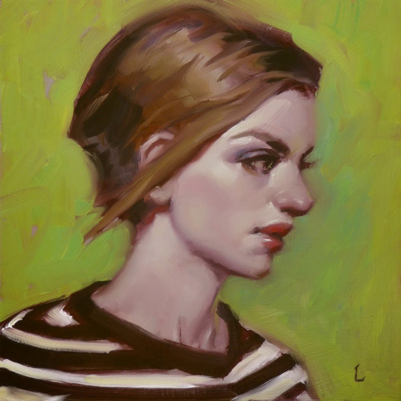 """Lime Time"" original fine art by John Larriva"