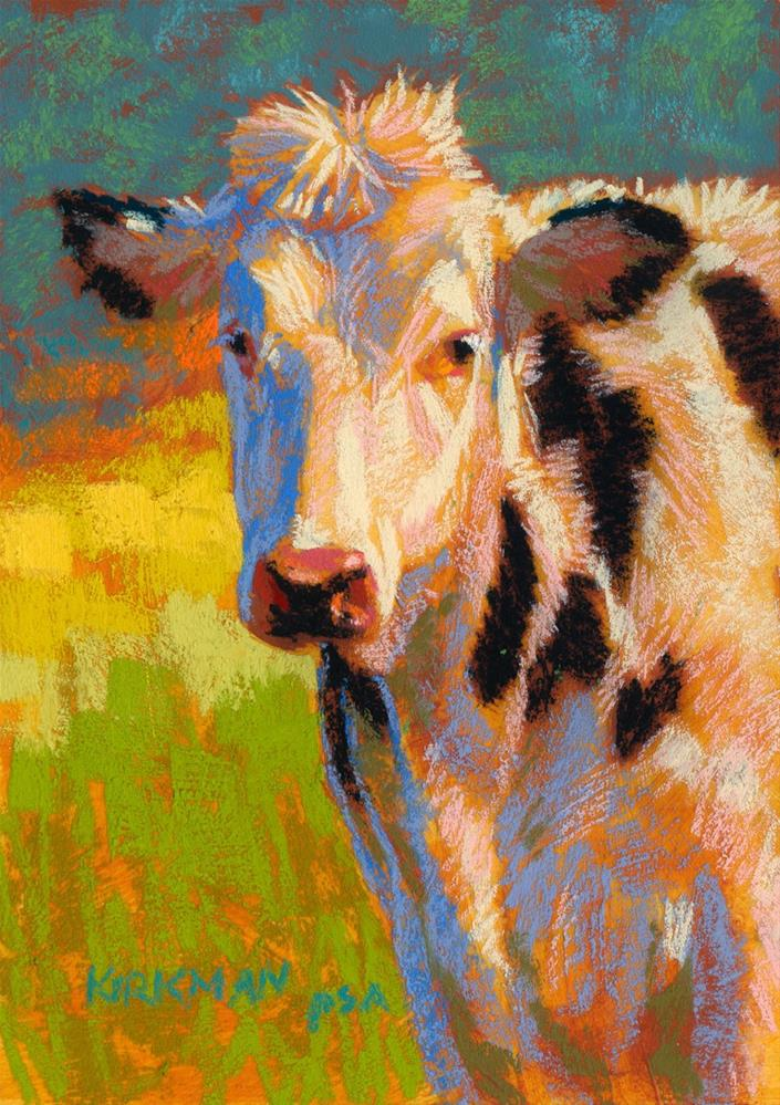"""Polka"" original fine art by Rita Kirkman"
