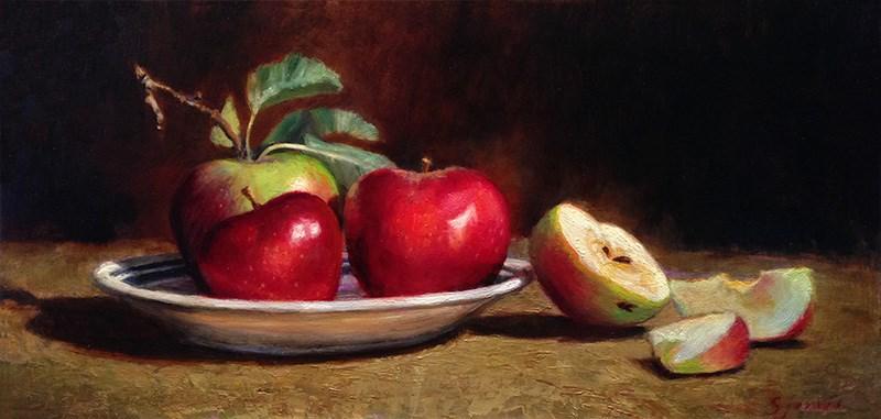 """A Slice of Life"" original fine art by Susan N Jarvis"