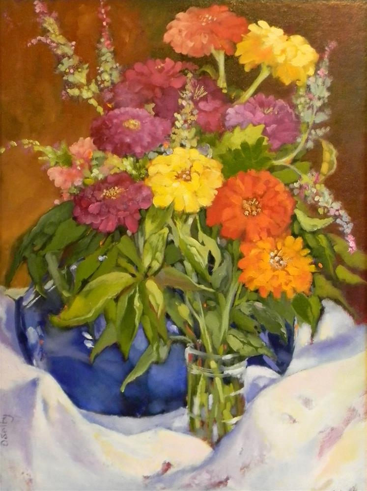 """Summer's Last"" original fine art by De Selby"