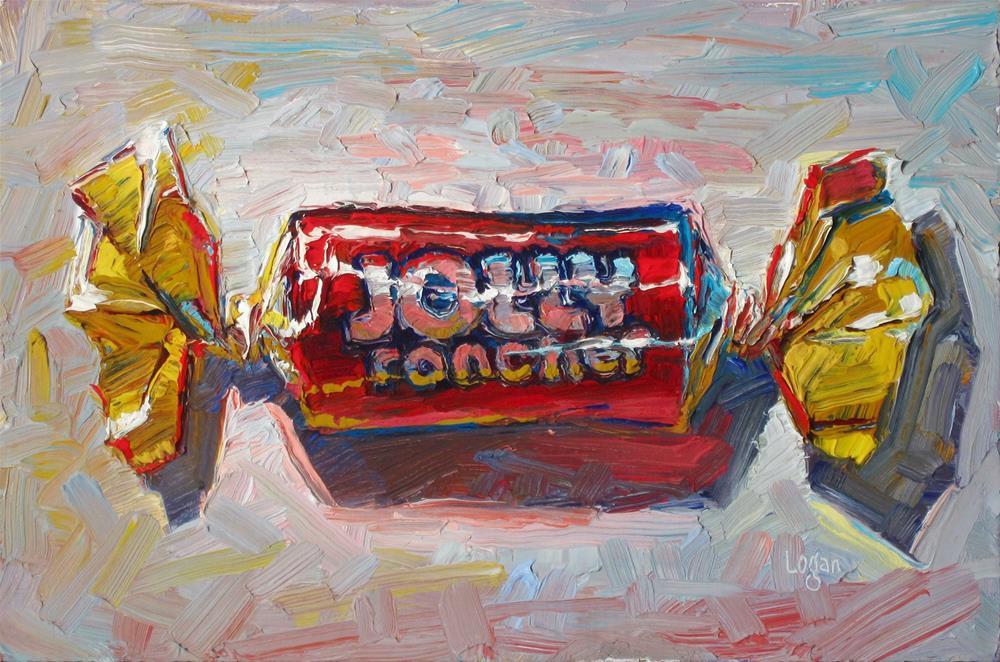 """""""Jolly Rancher Candy"""" original fine art by Raymond Logan"""