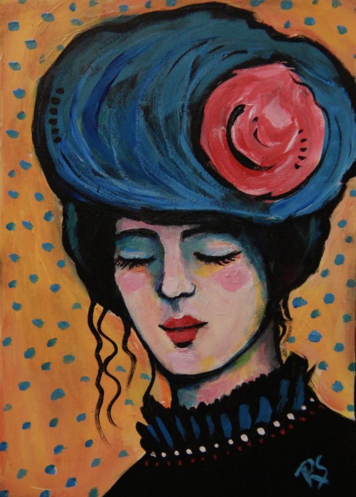 """""""Once Upon a Daydream"""" original fine art by Roberta Schmidt"""
