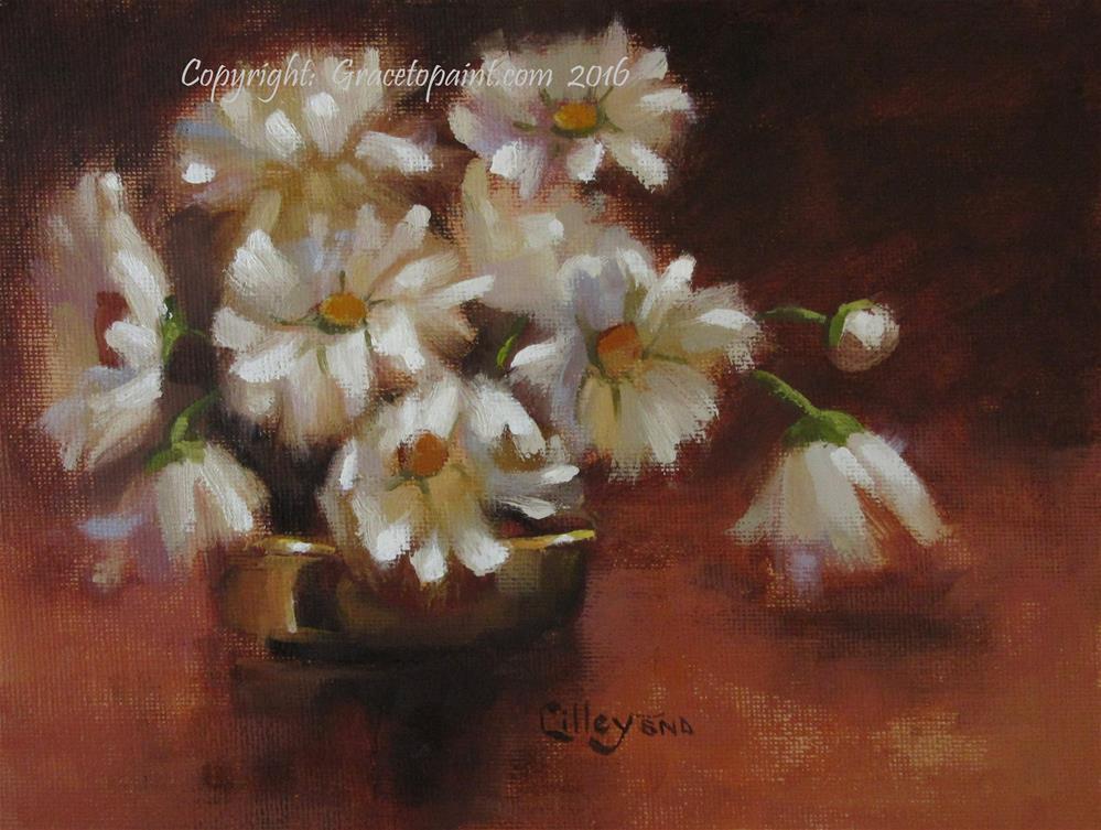 """""""Daisy Curtsy"""" original fine art by Maresa Lilley"""