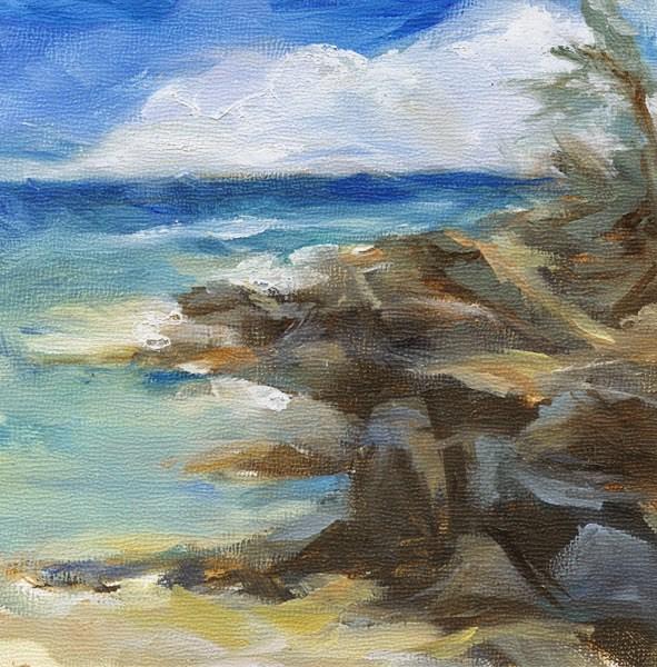 """OIL PAINTING VENTURE!"" original fine art by Susan Roden"