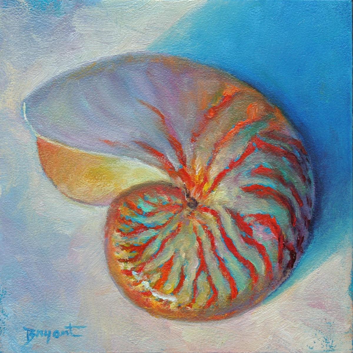 """Chambered Secrets"" original fine art by Debra Bryant"