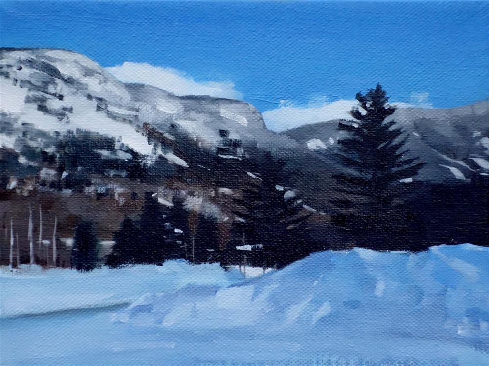 """White Mountains, Lincoln, NH (no.117)"" original fine art by Michael William"