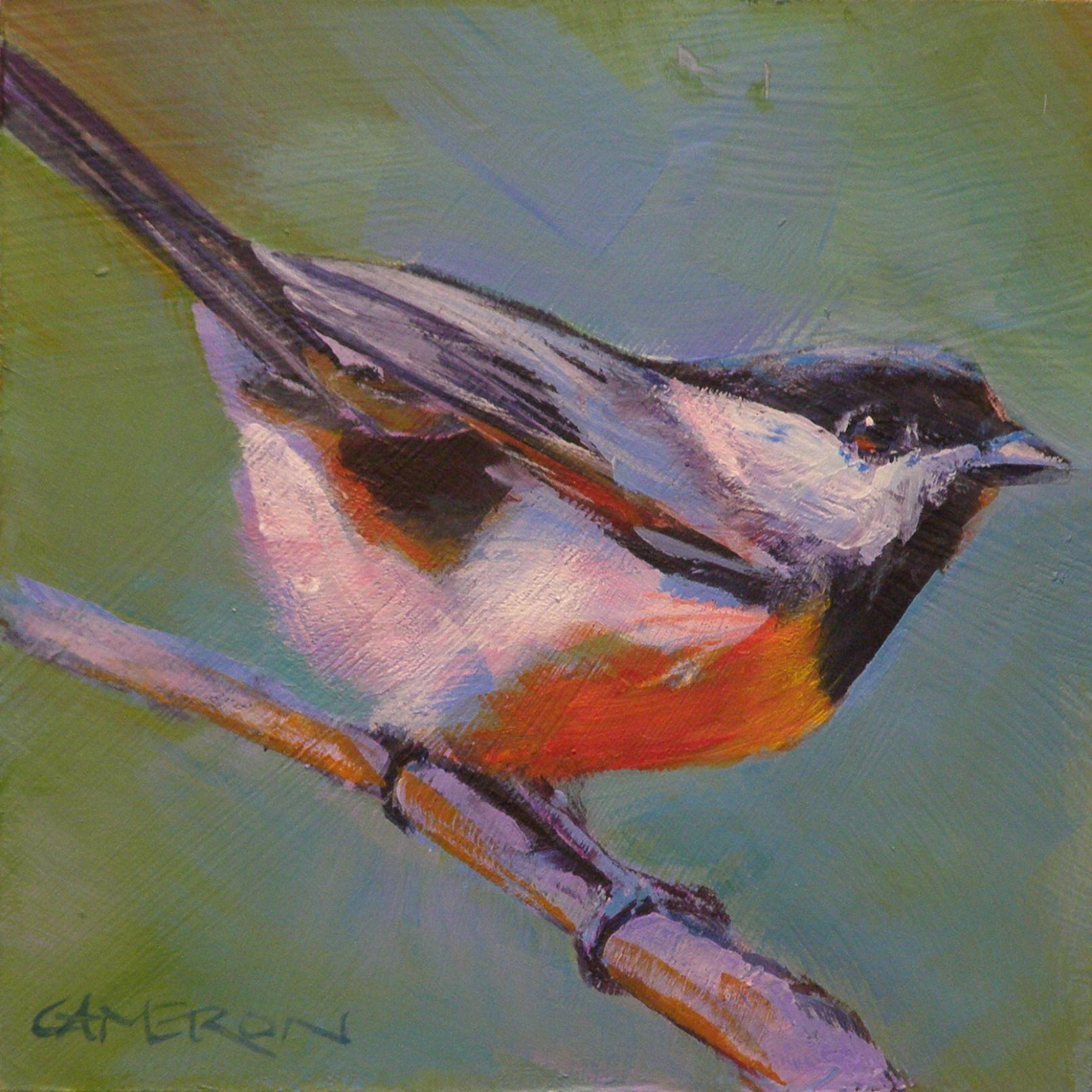 """PRETTY BIRD"" original fine art by Brian Cameron"