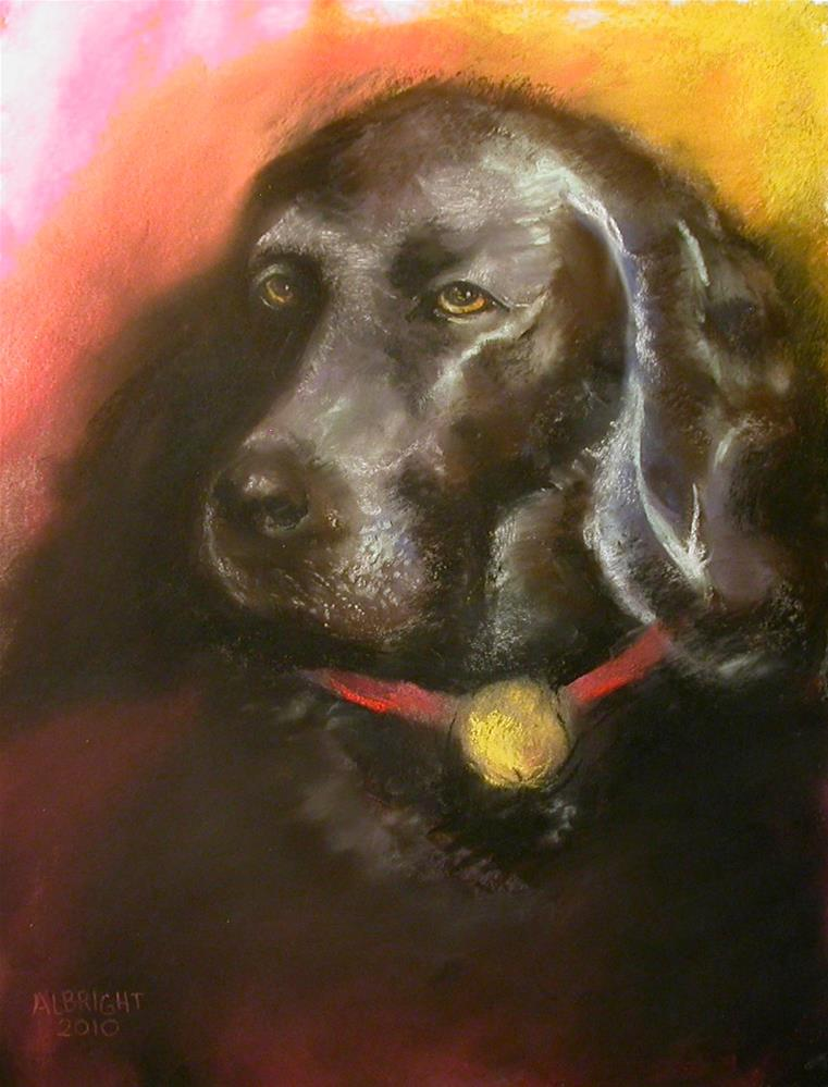 """""""A True Friend Commissions accepted"""" original fine art by Judy Albright"""