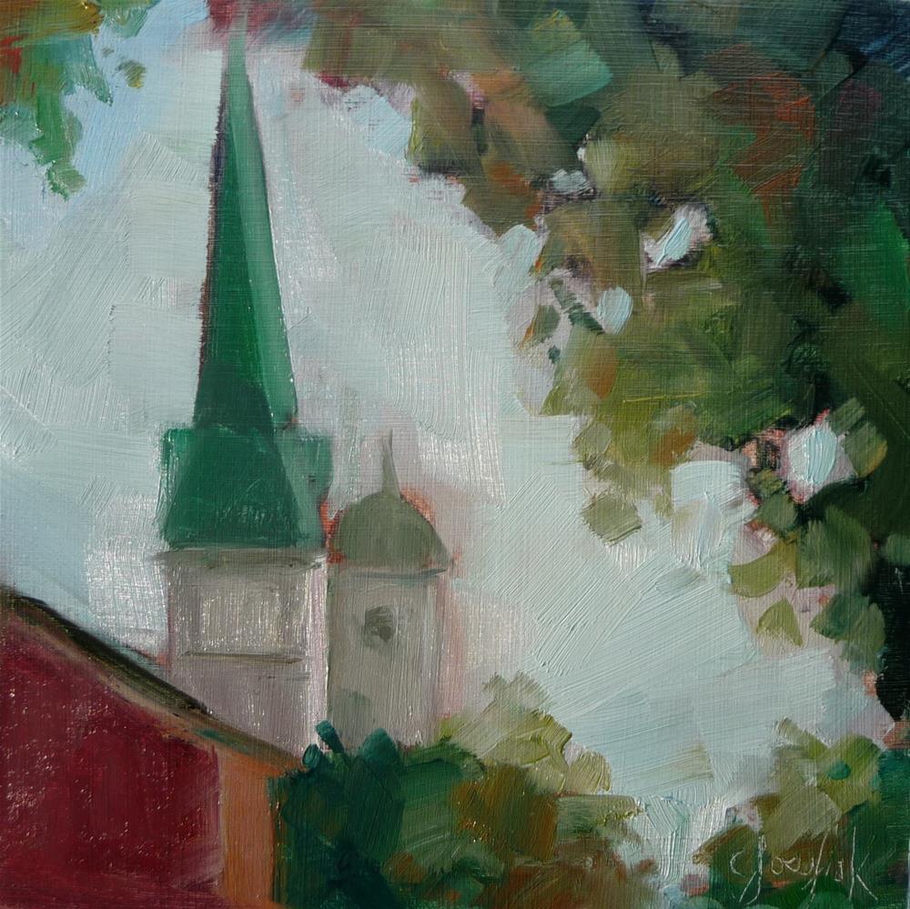 """Welcome Home"" original fine art by Carol Josefiak"