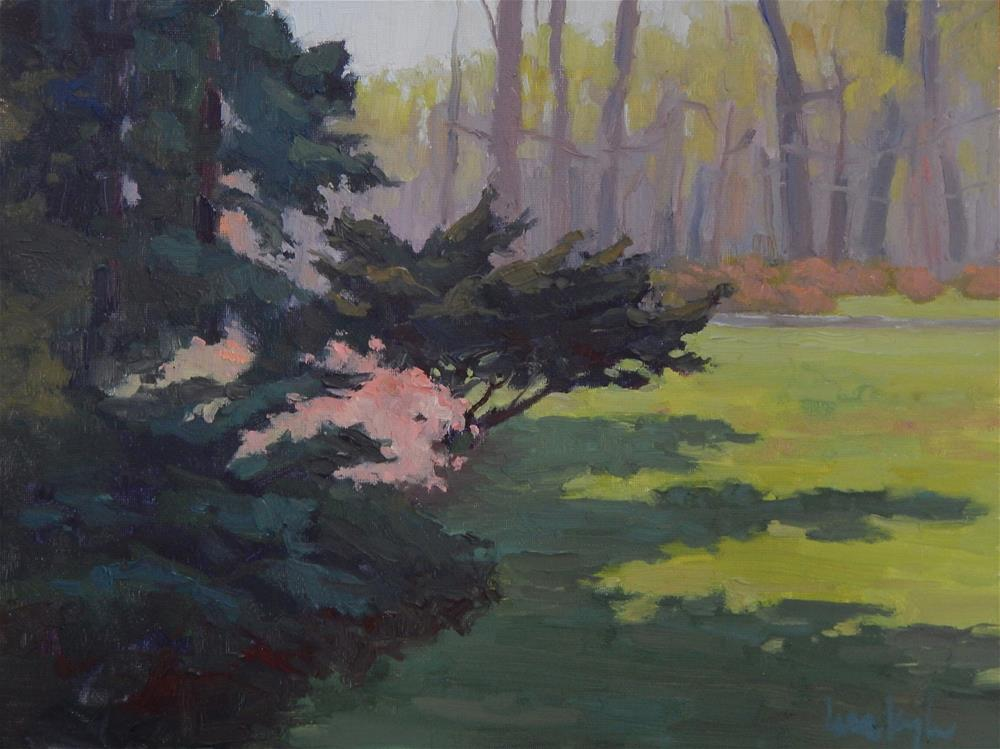 """Spring at Winterthur"" original fine art by Lisa Kyle"