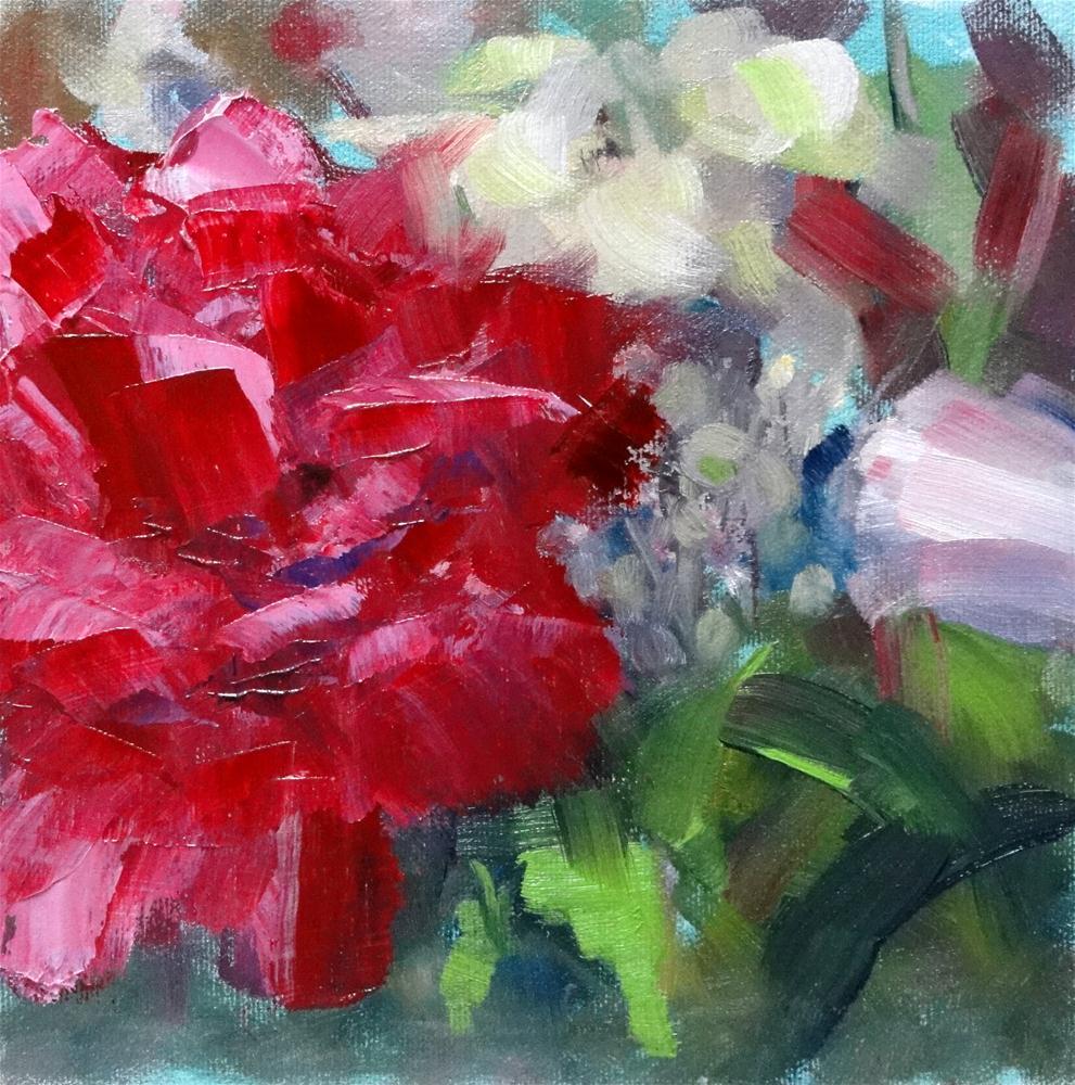 """""""Homegrown Beauty"""" original fine art by Ann Feldman"""