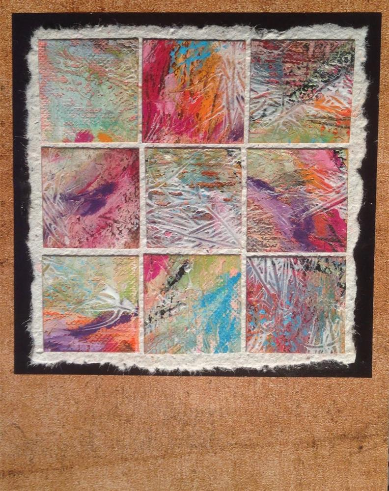 """Thumbnail Gallery #2"" original fine art by Dotty Seiter"