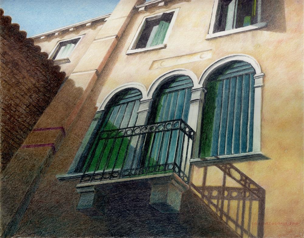 """Behind San Zacariah"" original fine art by Joe Fitzgerald"