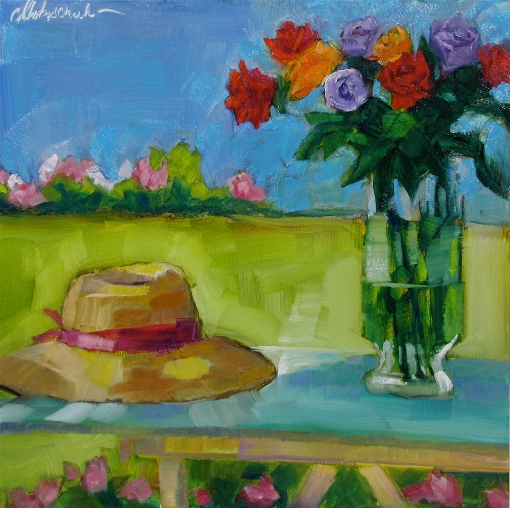 """Summer Time"" original fine art by Christine Holzschuh"