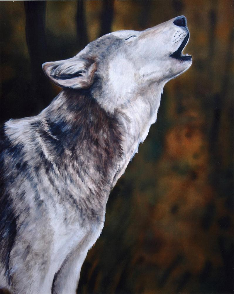 """Call of the Wild"" original fine art by Charlotte Yealey"