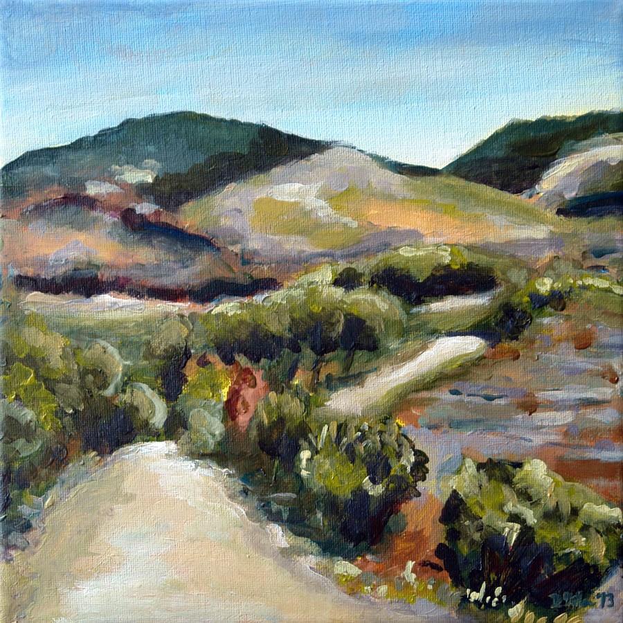 """0644 Provençal"" original fine art by Dietmar Stiller"