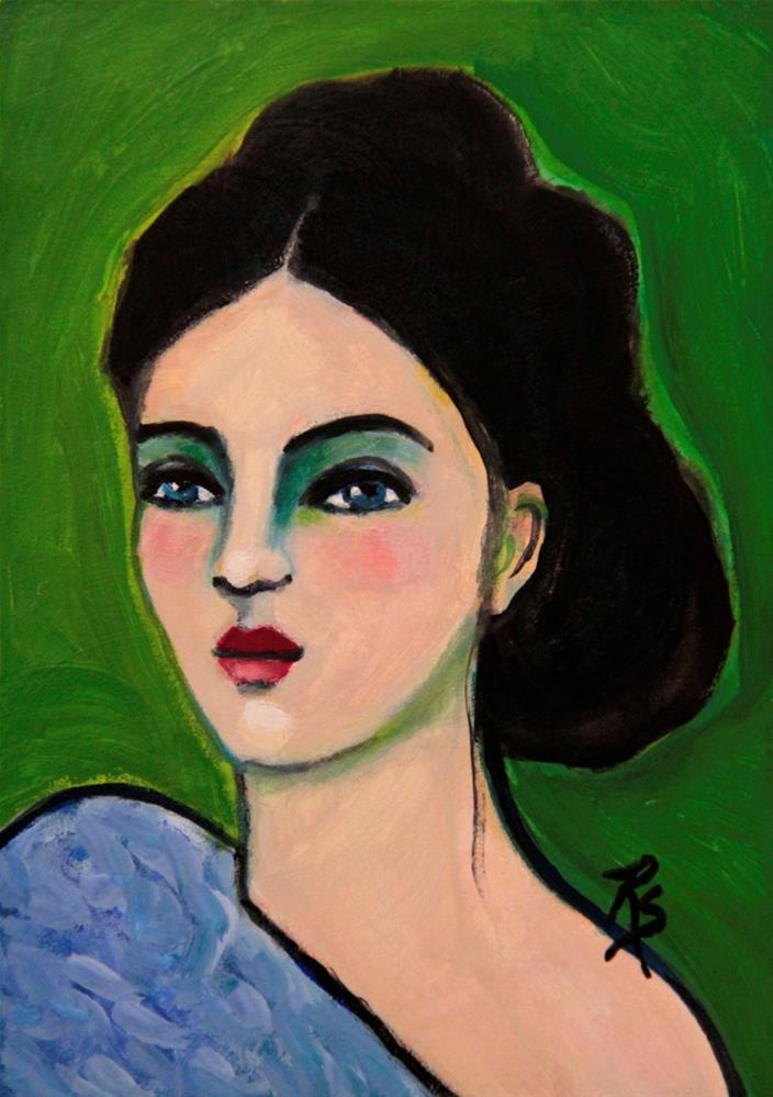 """Esther"" original fine art by Roberta Schmidt"