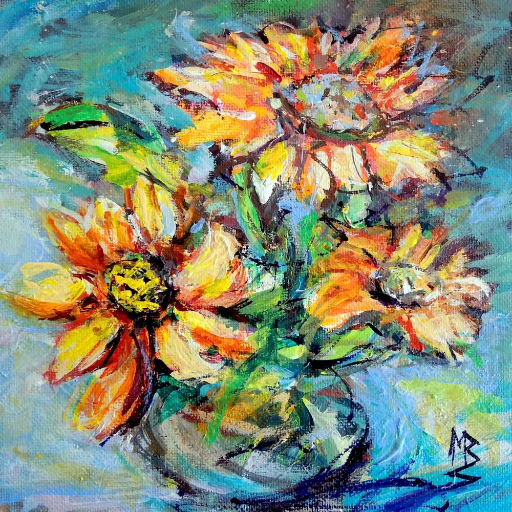 """""""Fall Tone"""" original fine art by Mary Schiros"""