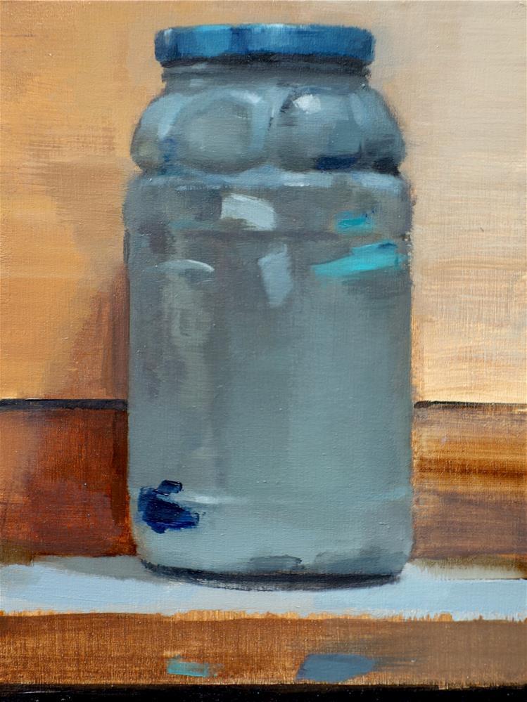 """Paint Jar (no.133)"" original fine art by Michael William"