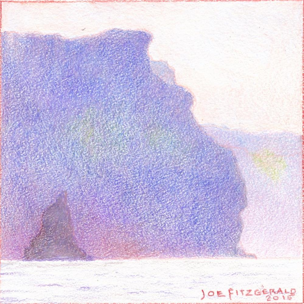 """Sailing Round Moher I"" original fine art by Joe Fitzgerald"