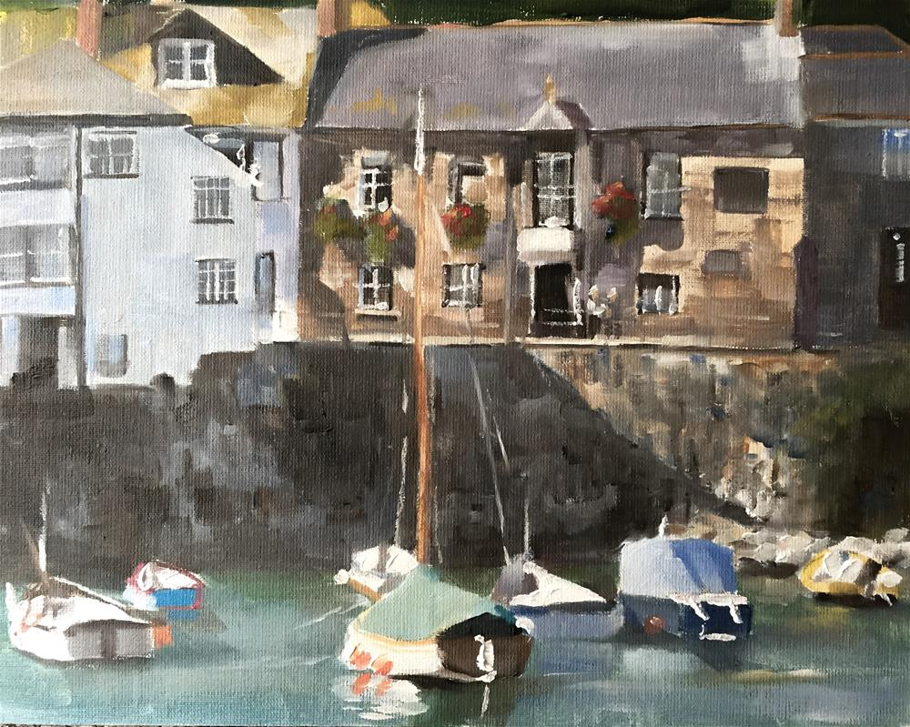 """Mousehole Cornwall"" original fine art by James Coates"