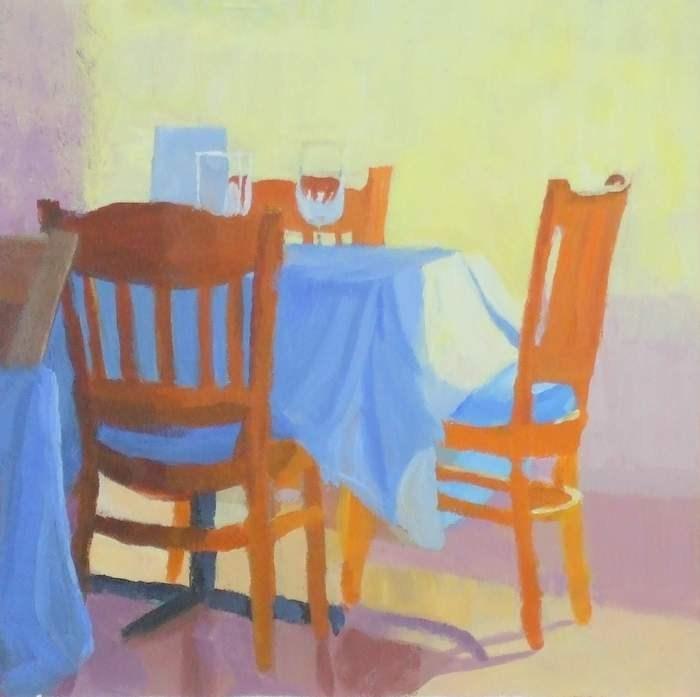 """Sunny Interior"" original fine art by Meredith Adler"