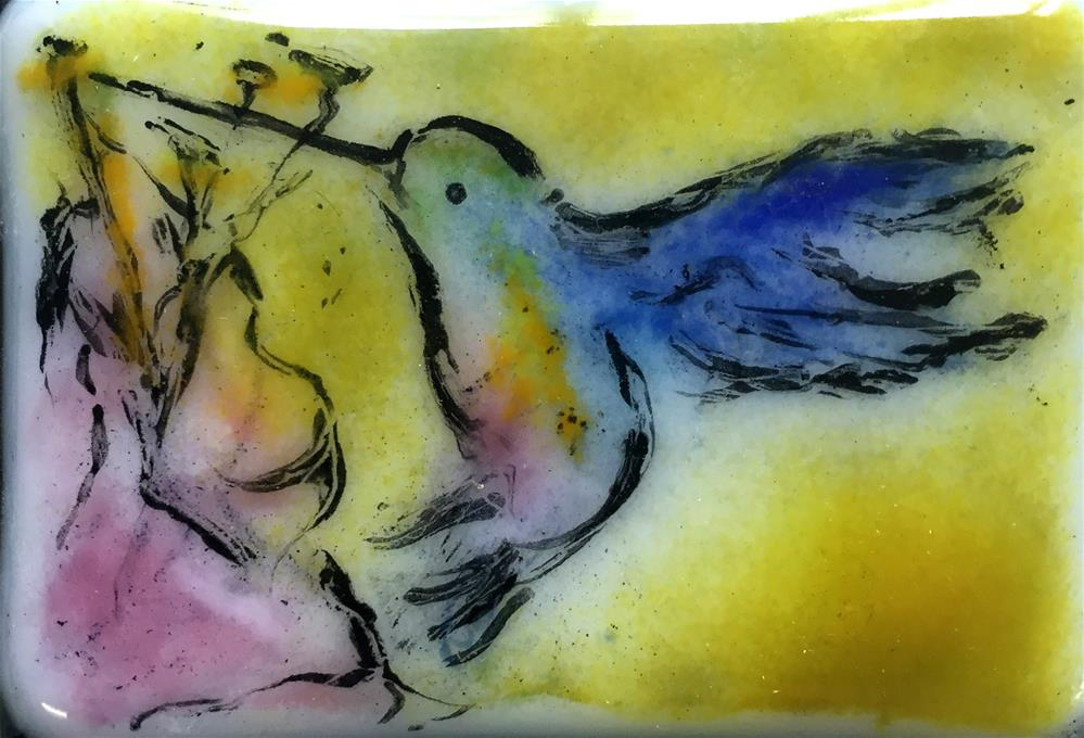 """Backyard Friend"" original fine art by Kristen Dukat"