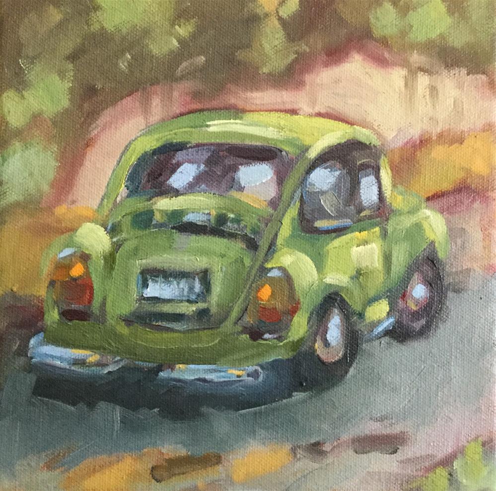 """""""Bug"""" original fine art by Cheryl Moody"""