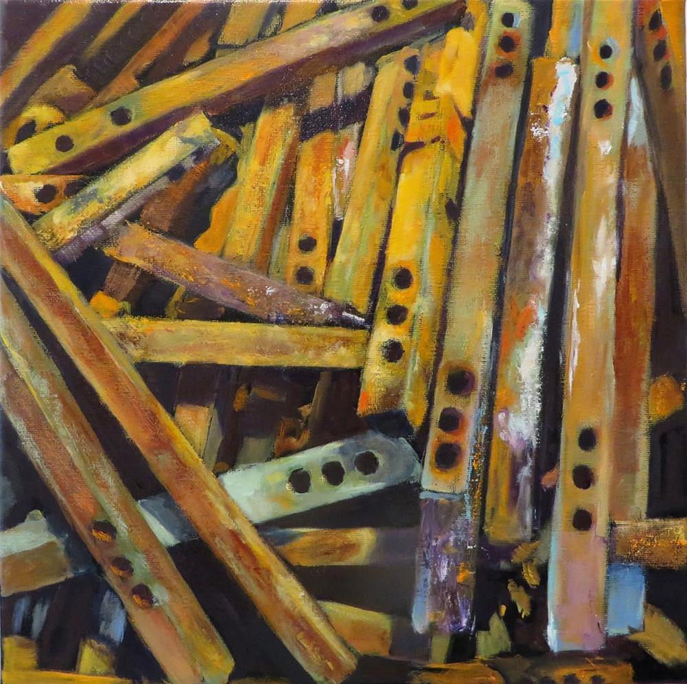 """808 Adjustable"" original fine art by Diane Campion"