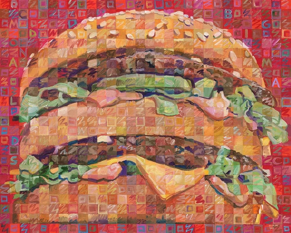 """""Big Mac"""" original fine art by Randal Huiskens"